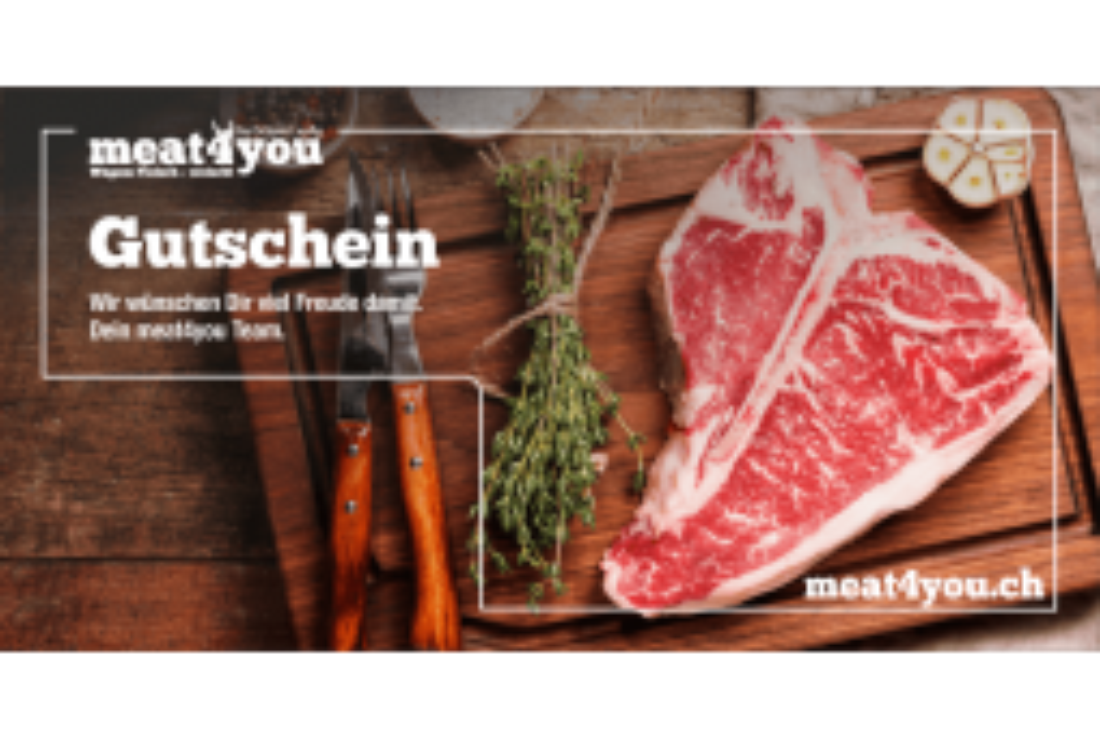 meat4you Gutschein (print@home)