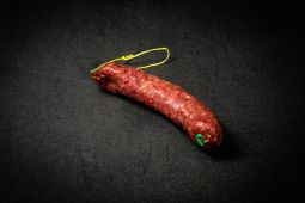 Bio Knospe Sedruner Trockenwurst Rind und Schwein