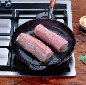 Zubereitung von Fleisch