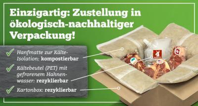 Ökologisch wegweisendes Verpackungskonzept